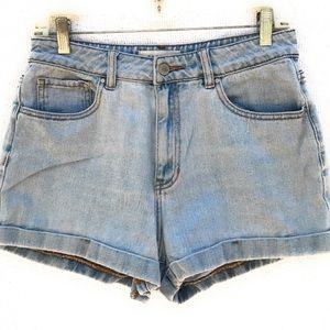 PacSun Mom Shorts Cuffed